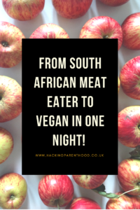 From South African Meat eater to Vegan in one night!