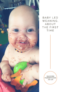 Baby led weaning, about the first time