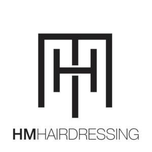 Logo for the hairdresser HM hairdressing
