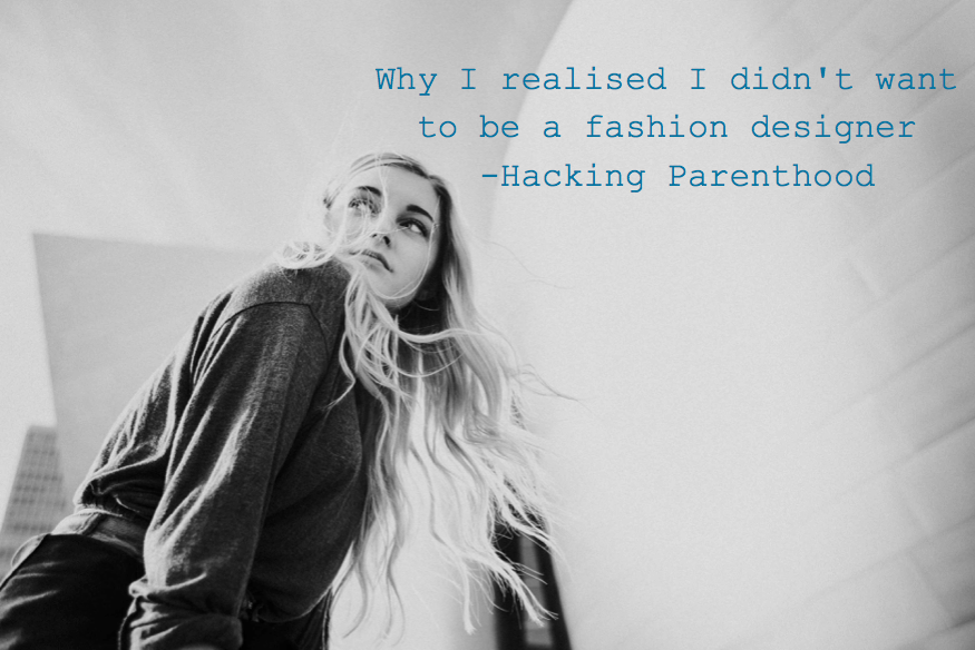 Why i want to be a fashion designer essay