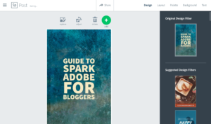 Guide to Spark Adobe for bloggers -Hacking Parenthood