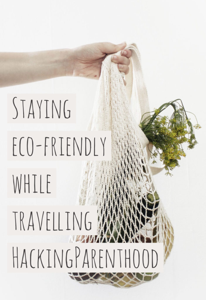 Staying eco-friendly while travelling